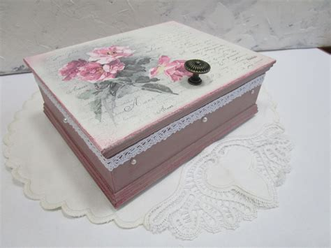 Napkin Decoupage Tutorial - decoupage tutorial diy how to decoupage a box with