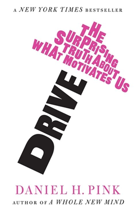 drive daniel pink drive the suprising truth about what motivates us 2009