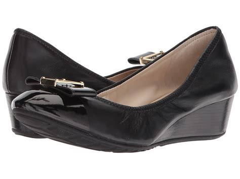 Emory Darrine Import Shoes Wedges ugg mattie black leather womens wedge shoes