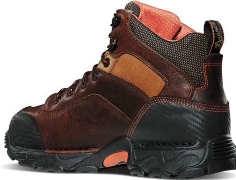 danner corvallis gtx plain toe work boots brown