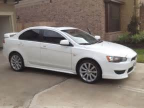 Mitsubishi Lancer Craigslist 2009 Mitsubishi Lancer White For Sale Craigslist Used