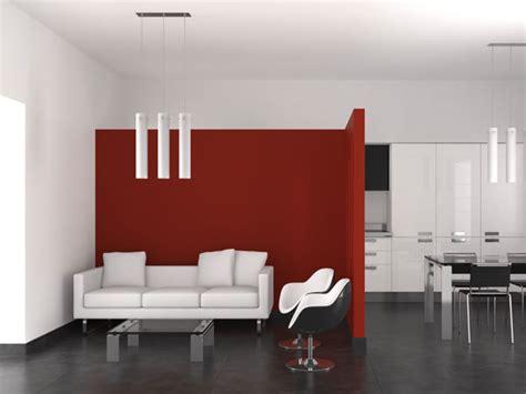 Rote Wände Wohnzimmer by Wandgestaltung K 252 Che Rot