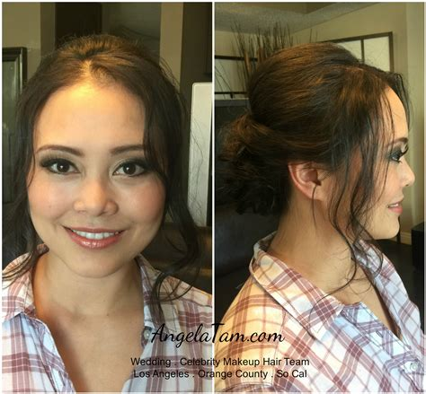 angela giles los angeles hair stylist airbrush makeup before and after celebrities mugeek