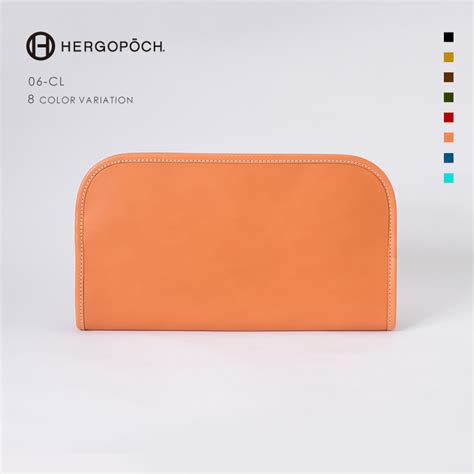 Clutch Bag Series brianza store エルゴポック hergopoch clutch bag side