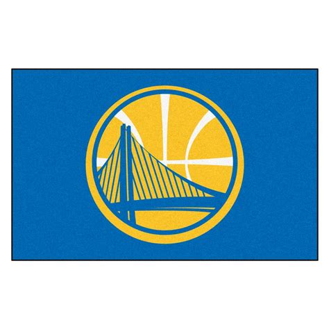 fanmats golden state warriors 5 ft x 8 ft ulti mat 9266