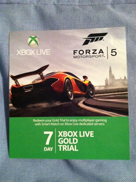 xbox 7 day trial free free free xbox live gold 7 day trial code forza motorsport 5 4 prepaid