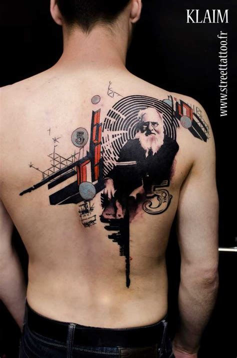 tattoo photoshop photoshop style colored scapular of with