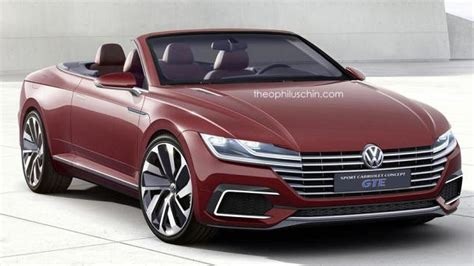 Eos Volkswagen by Volkswagen Eos Replacement Rendered As The Sport Cabriolet