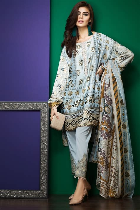 New Collection khaadi summer lawn dresses designs collection 2017 2018