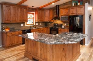 exceptional How To Stain Kitchen Cabinets Black #8: rustic-kitchen.jpg