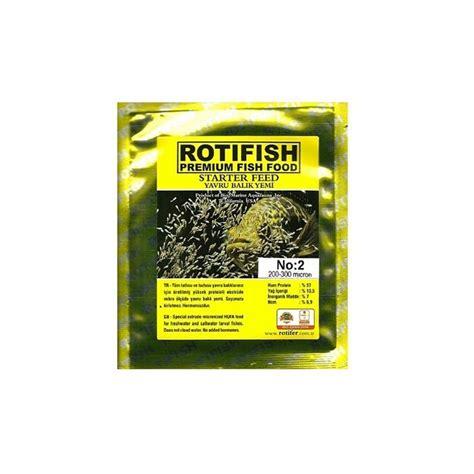 Nori 200 300 Mikron 3 rotifish starter feed yavru bal箟k yemi 10 gr no2 200 300