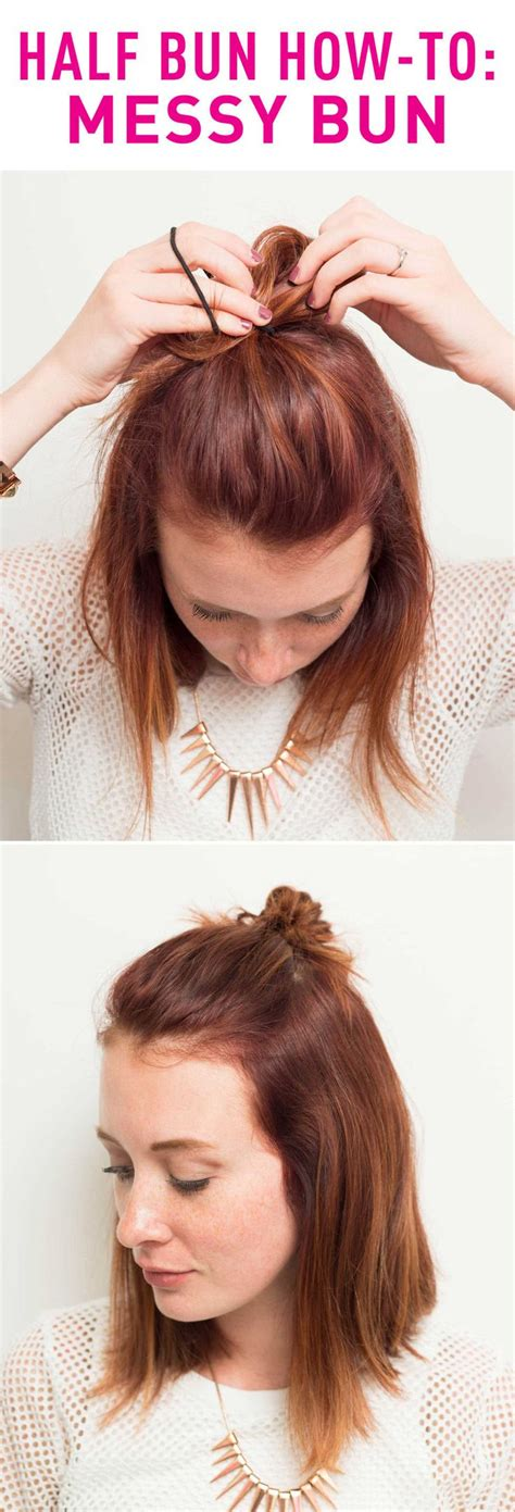 can you get a messy bun look with the bun maker 274 best hairstyles for medium length hair images on