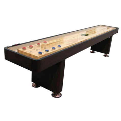 9 shuffleboard table standard 9 shuffleboard table espresso