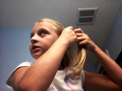 ponytail hairstyles for 8 year olds 10 year old hair styles hope ya likesss youtube