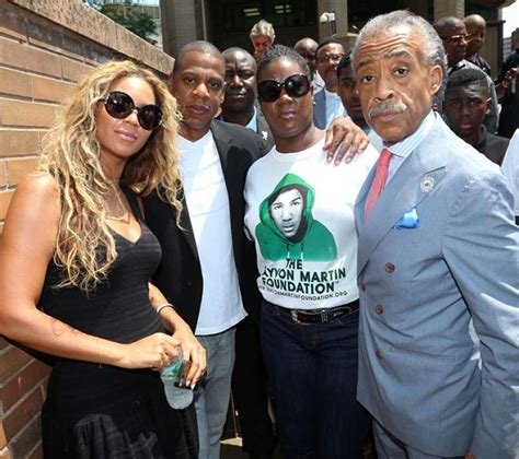 Beyonce Solange And Al Sharpton z beyonce appear at justice for trayvon martin