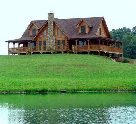 Cabins On The Water by Cabin On The Water Log Cabin Living