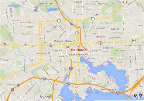 map usa baltimore baltimore map usa images