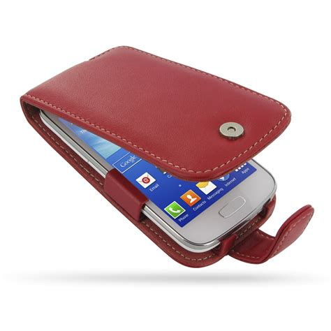 Casing Samsung Ace 3 samsung galaxy ace 3 leather flip pdair