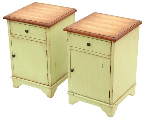 pair of table ls top 28 shabby chic bedside ls top 28 shabby chic