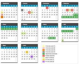 Calendario 2017 Y 2018 Calendario Escolar 2017 2018 En Castilla Y Le 243 N Escuelas