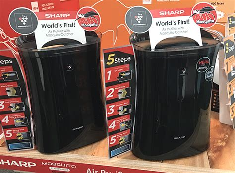 Sharp Air Purifier Nyamuk pokok halau nyamuk