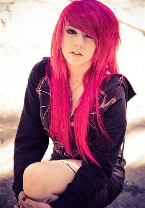 emo hairstyles for long hair girls emo hairstyles for girls with long hair hairzstyle com
