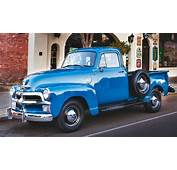Blue Real Vintage Chevy Truck  &amp GMC Trucks Of The