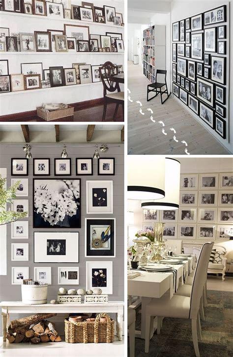 decorar tu pared con fotos decorar con fotos