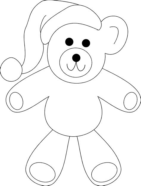 christmas coloring pages teddy bear colouring pictures of teddy bears az coloring pages