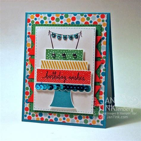 Fancy Handmade Cards - birthday wishes happy birthday cake fancy greeting card