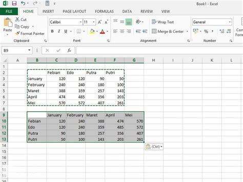 excel 2013 tutorial 11 review assignment cara memindahkan tempat kolom dan baris di excel 2013