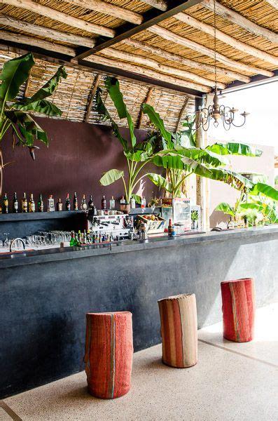 bar area ceiling design black bar  stools