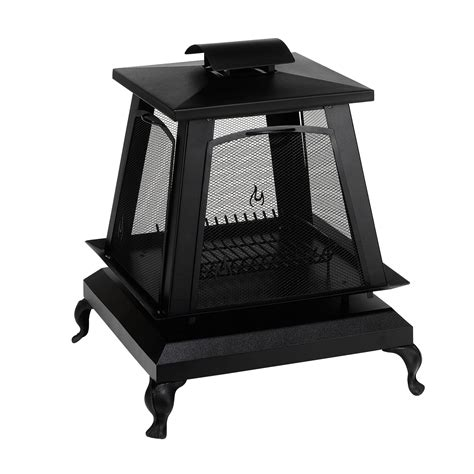 Trentino Outdoor Fireplace by Char Broil Trentino Outdoor Fireplace With Removable