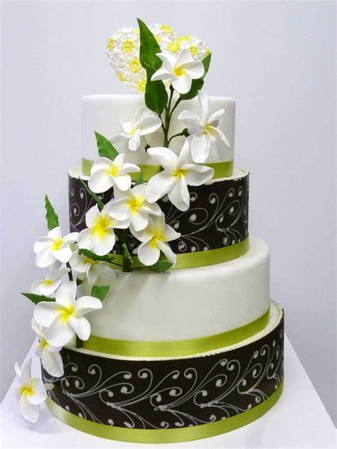 Hochzeitstorte Ja by Hochzeits Torte Frangipani Bl 252 Ten Auf Ja De