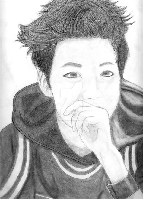 Jhope Drawing Easy by Bts J Jung Hoseok By Lucyxxnyuu13 On Deviantart