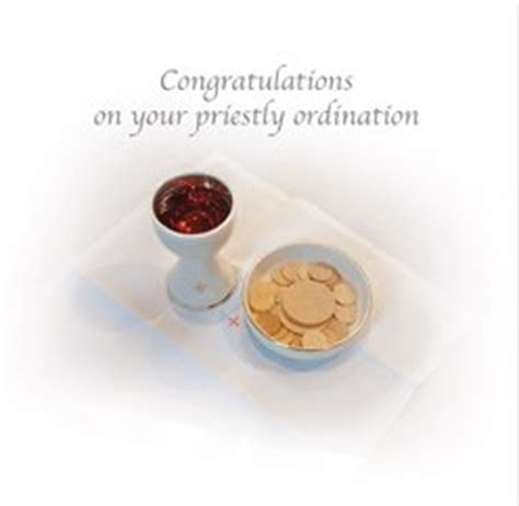 Card: Congratulations on your Priestly Ordination