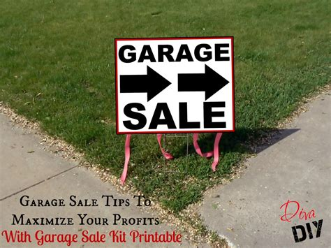 Garage Sale Buying Tips by Garage Sale Tips To Maximize Your Profits Of Diy