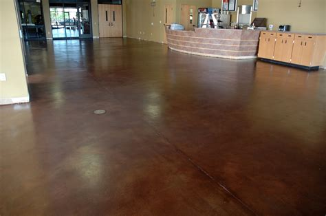 How To Finish Concrete Floors Interior by Stained Interior Floor Az Creative Surfaces 480 582 9191