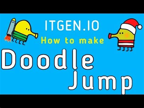 doodle jump tutorial scratch skills how to make jumping and gravity doovi