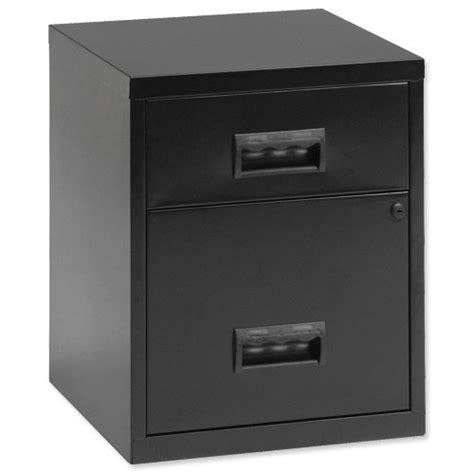 Henry Filing Cabinet 2 Drawer by Henry 2 Drawer Combo Filing Cabinet Black