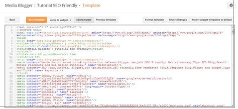 edit html template shazryena says panduan cara edit html template terbaru