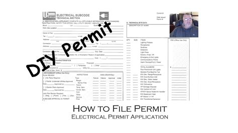 do i need a permit for electrical work how do i get a
