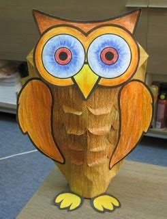 How To Make A Paper Bag Owl - make an owl out of a paper bag crafts