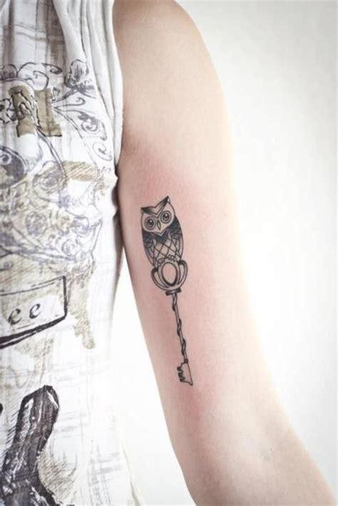 tattoo love key small owl with a key tattoo graphic tattoos