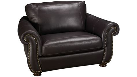Softaly Leather Sectional by Softaly Nailhead Leather Power Recliner S