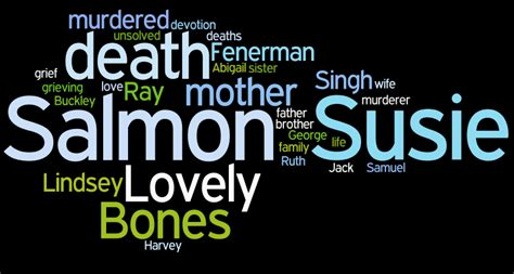 themes in lovely bones book book quotes from the lovely bones quotesgram