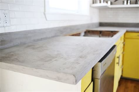 How To Do Cement Countertops How To Redo Your Laminate Countertops For Less Than 100