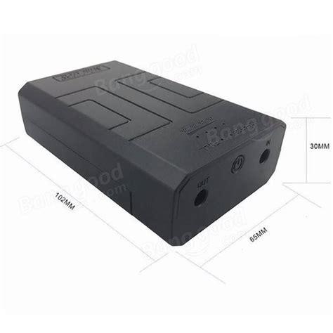 alimentazione ups dc 12v 2a mini ups alimentazione pacco batteria tipo on