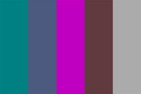 colorful colors chambre essais color palette