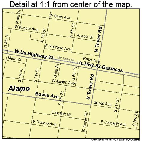 the alamo texas map alamo texas map 4801576